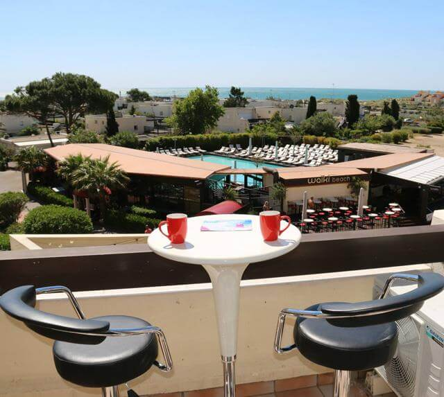 Affitto naturista a Cap d'Agde studio – residence Port Nature