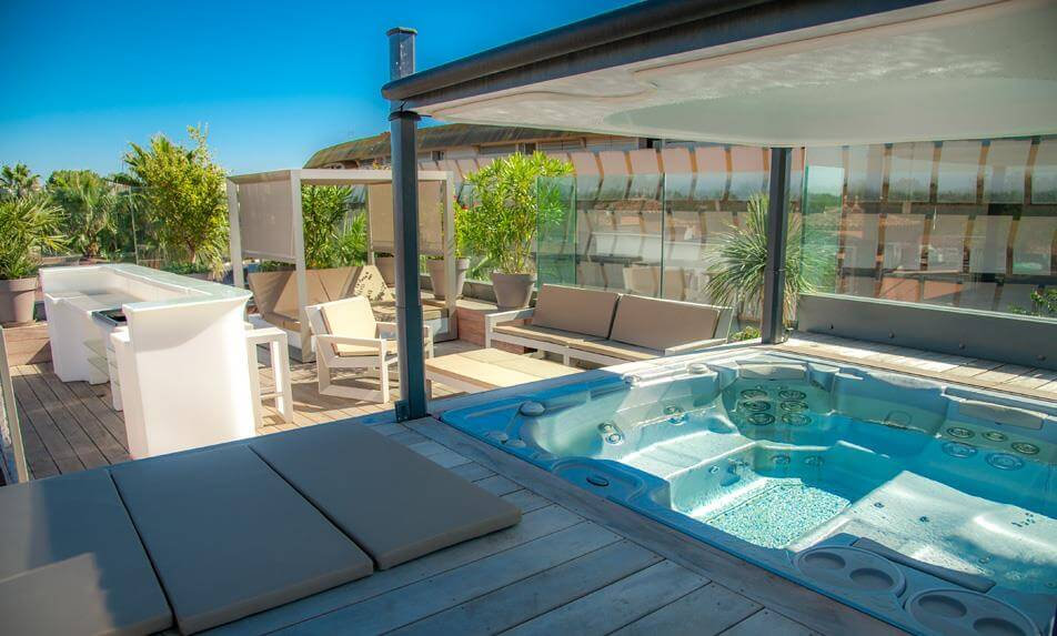 Riad complet Palace N°4 - Jacuzzi : location riad au Cap d'Agde